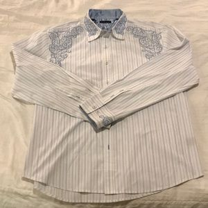 7 Diamonds Dress Shirt - XXL